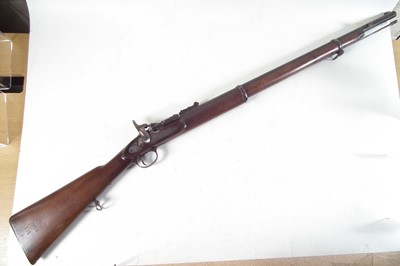 Lot BSA Two band .577 Snider rifle