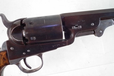 Lot Clement Arms Colt type .38 calibre percussion revolver