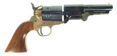 Lot Blank firing Pietta 9mm Colt 1851 type single action army revolver