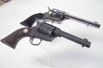 Lot 25 - Two replica Colt Single Action Army revolvers