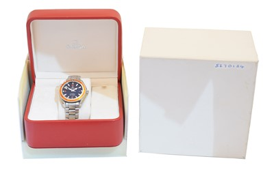 Lot 139 - A stainless steel Omega Seamaster Planet Ocean watch