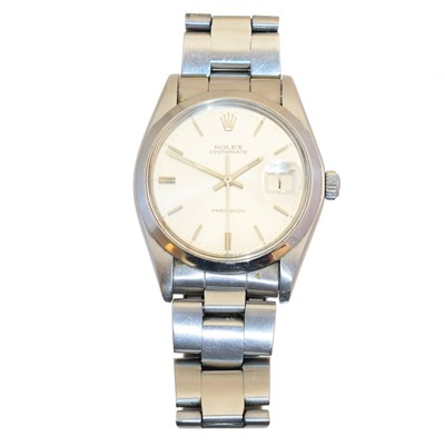Lot 143 - A steel Rolex Oysterdate Precision wristwatch
