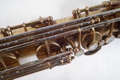 Lot 37 - Selmer baritone saxophone