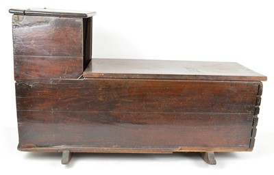 Lot 146 - 19th Century mahogany rocking crib