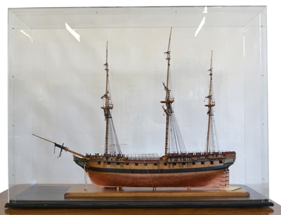 Lot 73 - HMS Diana 1-64 scale model