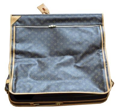 Lot 39 - A Louis Vuitton monogram garment cover