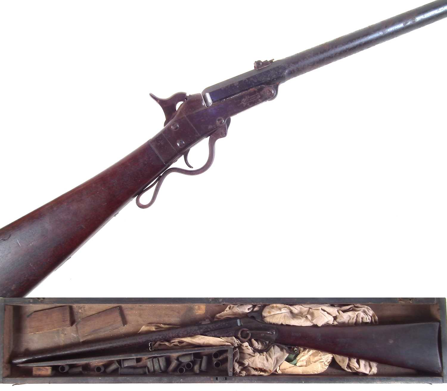 Lot 45 - Maynard carbine