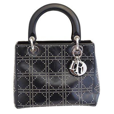 Lot 135 - A Christian Dior Lady Dior MM bag