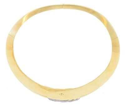 Lot A diamond collar necklace