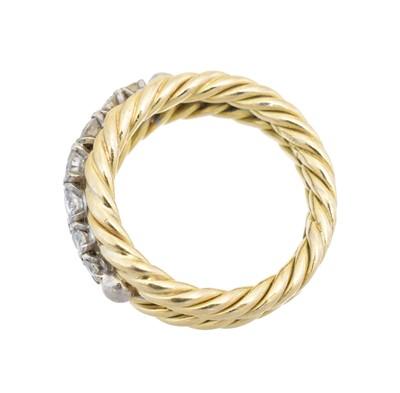Lot A diamond band ring