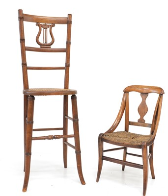 Lot Childs Chair and Correction Chair