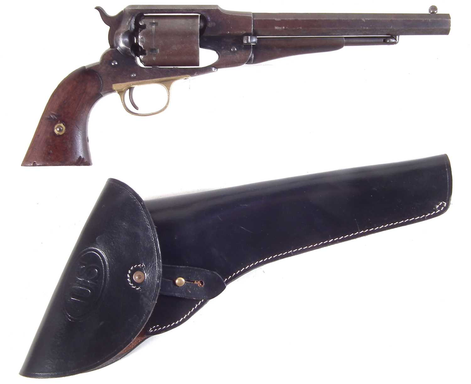 Lot 17 - Remington 1858 New Model Army .44 percussion revolver