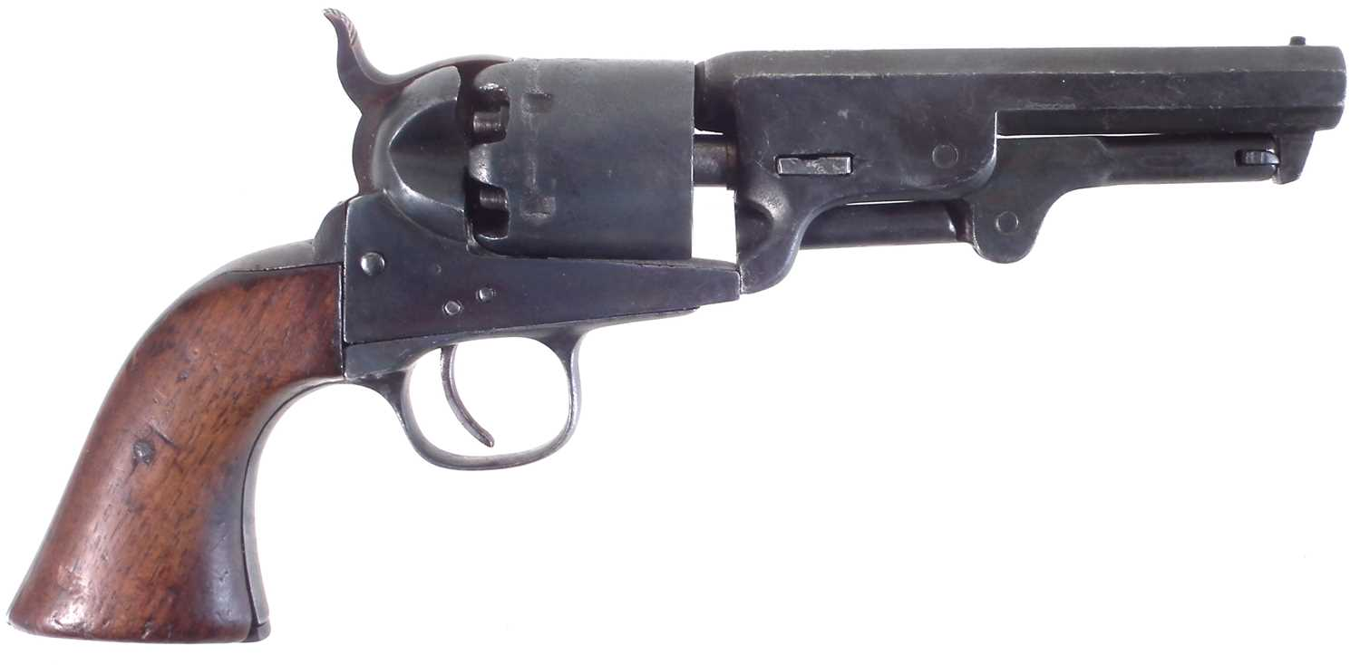 Lot 18 - Percussion pocket .44 revolver of Colt type
