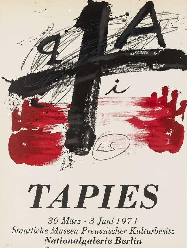 Lot 90 - Antoni Tapies