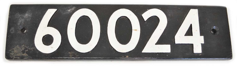 Lot 60024 Replica Smokebox Number Plate