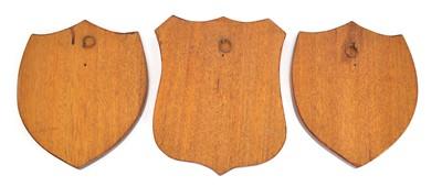 Lot Three Wooden Railwayana Shields