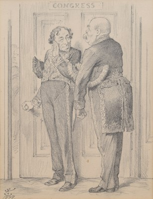 Lot 61 - Sir John Tenniel R.I. (British 1820-1914)