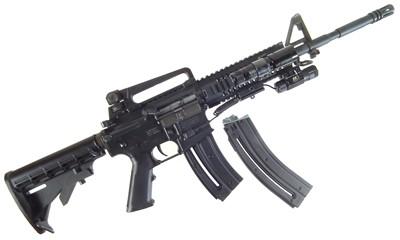Lot Colt  M4 .22 semi automatic rifle LICENCE REQUIRED