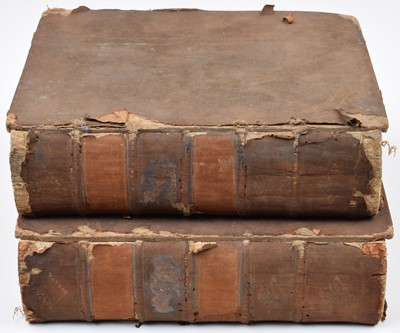 Lot 76 - Samuel Johnson, A Dictionary of the English Language, in two volumes.