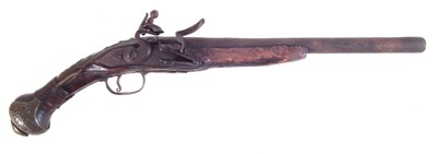 Lot 12 - Balkan flintlock pistol