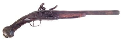 Lot 205 - Balkan flintlock pistol