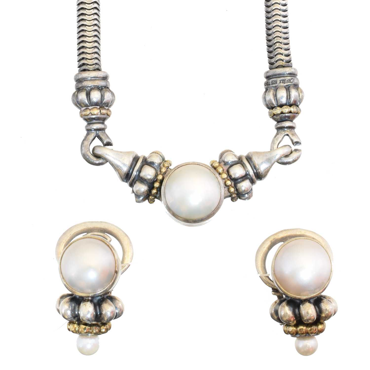 Lot 12 - A suite of jewellery by Lagos