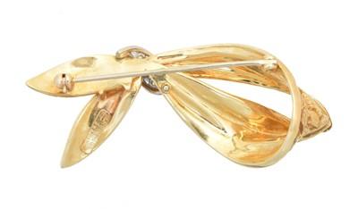Lot A diamond brooch by Dan Frere