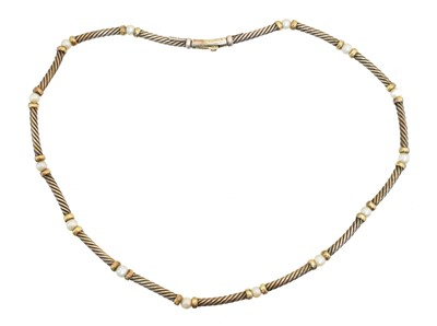 Lot 61 - A cultured pearl necklace by David Yurman