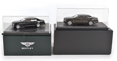 Lot 57 - Two 1:43 Scale Bentley model cars