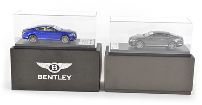 Lot 56 - Two 1:43 Scale Bentley model cars