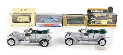Lot 60 - A collection of model cars