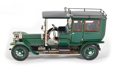Lot 61 - A Franklin Mint 1:24 1907 Rolls Royce Silver Ghost