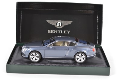 Lot 41 - Minichamps 1:18 scale Bentley Continental GT 2011 Thunder model