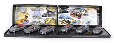 Lot 59 - Two Limited Edition Minichamps 1:43 three-car sets