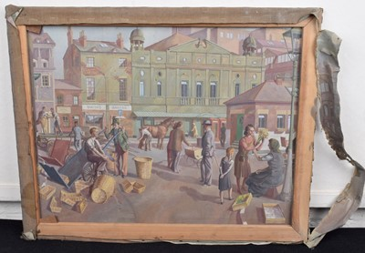 Lot 17 - Style of Evelyn Mary Dunbar (British 1906-1960)