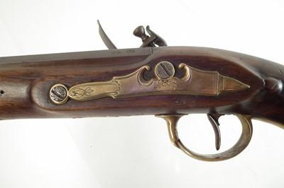 Lot 10 - Flintlock holster pistol by Probin