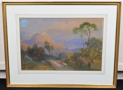 Lot 18 - Edward Richardson A.N.W.S. (British 1810-1874)