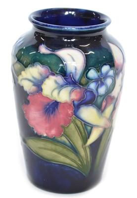 Lot 116 - Moorcroft Orchid Vase