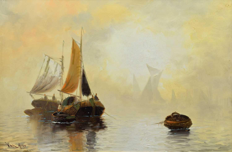 Lot 42 - Joachim Hierschl-Minerbi (Van Hier) (Dutch 1834-1905)