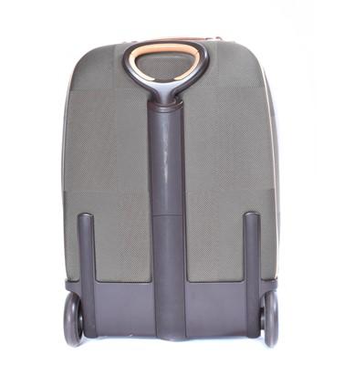 Lot 142 - A Louis Vuitton Terre Damier Geant Conquerant 55 Pegase Rolling Luggage Bag
