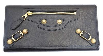 Lot 140 - A Balenciaga City wallet