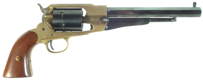 Lot 23 - Italian blank firing Remington 1858 replica revolver