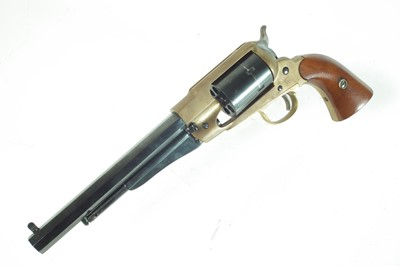 Lot Italian blank firing Remington 1858 replica revolver