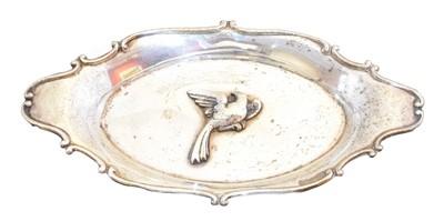 Lot 117 - An Edward VII silver pin dish