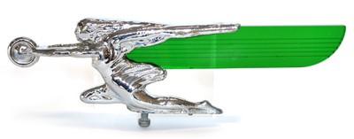 Lot 107 - Winged Flight Plated Chrome Mascot