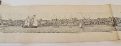 Lot 39 - A Panorama of the Right Bank of the Elbe From Hamburg To Blankenese.