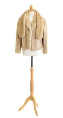 Lot 38 - A blonde mink coat
