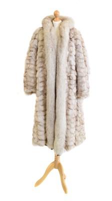 Lot 145 - A fox fur coat