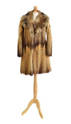 Lot 58 - A fur coat