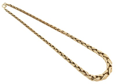 Lot 49 - A chain necklace